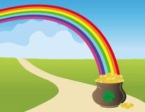St Patrick `s dagkaart Royalty-vrije Stock Afbeelding