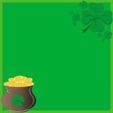 St Patrick `s dagkaart Stock Foto's