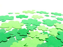 St Patrick's Day. Shamrock background, vertical orientation Stock Images