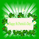 St. Patrick's Day. Royalty Free Stock Photo