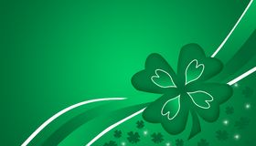 St. Patrick's day. Happy St. Patrick's day green background Royalty Free Stock Image