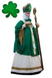 St.Patrick's day. St.Patrick isolated on white background Stock Photo