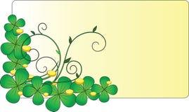 St. Patrick's Day. Celebratory card. St. Patrick's Day Stock Photos
