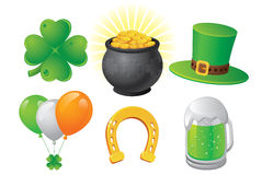 St. Patrick's Day. Symbols. Vector Illustration Stock Images