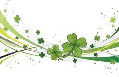 St. Patrick's Day. Shamrock design Royalty Free Stock Photo