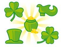St. Patrick's Day. Icon set Stock Image