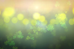 st. patrick's day abstract background royalty free illustration