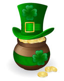 St. Patrick's day attributes Royalty Free Stock Photography