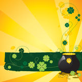 St. Patrick's Day Background vector illustration