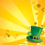 St. Patrick's Day Background royalty free illustration