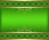 St. Patrick's day background Stock Images