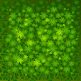 St. Patrick's day background. In green colors Royalty Free Stock Images