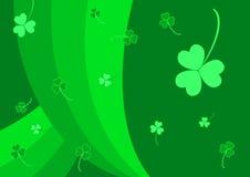 St. patrick's day background. Green st. patrick's day background Stock Image