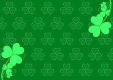 St. patrick's day background stock illustration