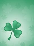 St. Patrick's day background. Happy St. Patrick's day green background Stock Photo
