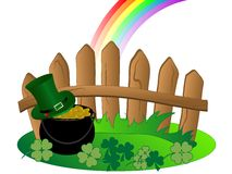 St.Patrick's day background Royalty Free Stock Images