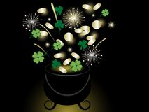 St.Patrick's day background Stock Image