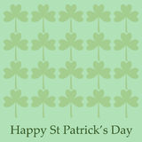 St Patrick`s Day Background Stock Photography