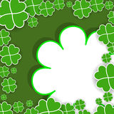 St. Patrick's Day background Stock Image