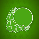 St. Patrick's Day background Royalty Free Stock Images
