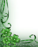 St Patrick's Day Background. 3D Illustration for St Patrick's Day Card, background, border or frame Stock Photos