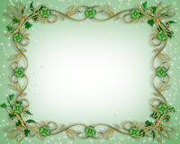 St Patrick's Day Background. 3D Illustration for St Patrick's Day Card, background, border or frame Royalty Free Stock Photo