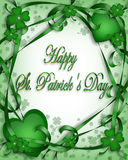 St Patrick's Day Background Royalty Free Stock Photos