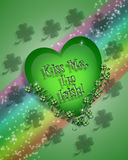 St Patrick's Day Background. 3D Illustration for St Patrick's Day Card, background, border or frame Stock Photography