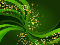 St Patrick's Day background Royalty Free Stock Photography