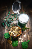 St. Patrick`s Day. Background for St. Patrick`s Day celebration Royalty Free Stock Images