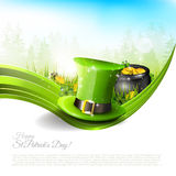 St Patrick's Day background Royalty Free Stock Image