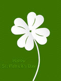 St Patrick's day background design Royalty Free Stock Photos