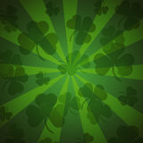 St. Patrick's day background in green colors Stock Photography