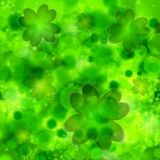 St. Patrick's day background in green colors. Vector illustration Stock Image