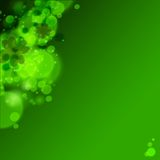 St. Patrick's day background in green colors. Vector illustration Royalty Free Stock Photography