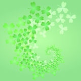 St. Patrick's day background. In green colors. Vector illustration Stock Photography