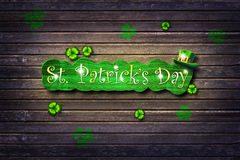 St.Patrick's Day. Background Royalty Free Stock Image