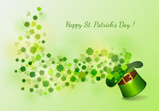 St.Patrick`s Day background Royalty Free Stock Photo