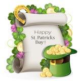St. patrick's day background Stock Photography