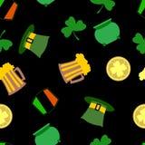 St.Patrick's day background Stock Image