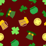 St.Patrick's day background Stock Photography