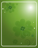St. Patrick's Day background - vector Stock Photography