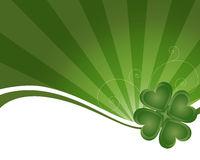 St Patrick's day background - vector stock image