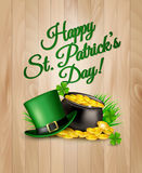 St. Patrick's Day Background. Royalty Free Stock Images