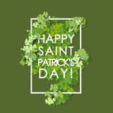 St Patrick's Day background. Royalty Free Stock Images