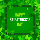 St Patrick's Day background. Vector illustration Royalty Free Stock Image