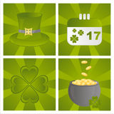 St. patrick's day backgrounds Stock Image