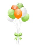 St. Patrick's day balloons Stock Photos