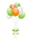 St. Patrick's day balloons vector illustration