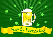 St. Patrick's Day Banner Stock Images